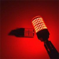 비상 조명 스트로브 전구 T20 7443 3014 144SMD 2PCS 브레이크 DC 12V-24V LED 브랜드