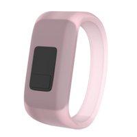 Флуоресцентное спортивное наручное ремень для Garmin Vivofit JR-полоса замена мягких силиконовых полос браслеты зеленые розовые цвета