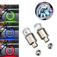 Interior&External Lights 2Pcs Car Tire Light Valves Cap Mount Motorcycle Bike Cycle Wheel Waterproof Bulb Motion Sensor Auto Decoration Lamp