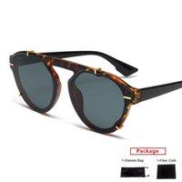 Sonnenbrille Mimiyou Punk Cat Eye Frauen hochgradige Sonnenbrille Männer Rivet Mode Marke Dessin Uv400 Brillen Dame Shades Oculos