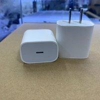높은 18W / 20W PD 빠른 충전기 USB-C 빠른 충전 유형 C US 플러그 AC 전원 어댑터 충전기 전화 11 12PRO 소매 상자