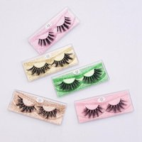 False Eyelashes Wispy Natural 3D Faux Mink Lashes Pack 10 Pairs Soft Reusable Bulk With Glitter Portable Boxes
