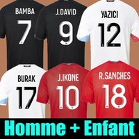 New 19 20 Lille Trikot soccer jersey 75th Anniversary football shirts IKONE J.IKONE XEKA BAMBA home rot 2019 2020 losc REMY LEAO ARAUJO Top-Thailand-Qualität