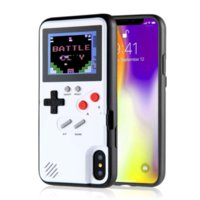 Handheld Retro Game Console Phone Cases Cover with Color Display Case for IPhone 11 12 6s 7 8 X XS XR PRO MAX