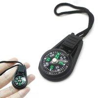 Großhandel Mini Compass Survival Kit mit Keychain für Camping von Outdoor Camping Wandern Hunting Edgeadgets