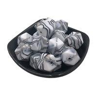 Lebensmittelgrade Silikon Lose Perlen Schmuck DIY Sechseck 14mm 17mm Baby Molaren Stern Anis Perle Baby Spielzeug Armband Halskette Teile 0 55SY M2