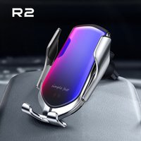 10W Qi Wireless Car Charger Automatic Clamp Fast Charge Holder For Iphone11pro XR XS Huawei P30 Pro Infrared Sensor Phone Mount