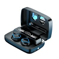 M9 TWS Wireless Earphones Touch Control Earbuds Sports Headsets Noise Cancellation LED Display 2000mAh Capacity Headphone