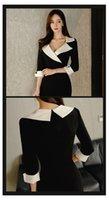 패션 드레스 여성 봄 드레스 캐주얼 사무실 레이디 우아한 비즈니스 바디 콘 착용 드레스 vestidos 옷