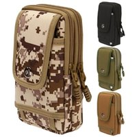 Outdoor Bags Tactical Phone Pouch Bag Military Waist Camping Mobile Fanny Pack Running For Hunting Hiking