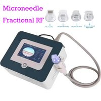 Mini RF Fractional Microneedle Facial Body Microneedling Machine Face Lift Wrinkle Removal Gold Micro Needle Scar Remove Needling System