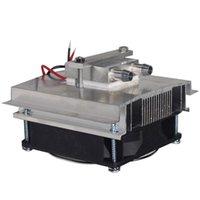 DIY Termoelektrik Soğutucu Soğutma Sistemi Yarı İletken Soğutma Kiti Soğutucu Peltier 15L Su Dizüstü Pedleri Için