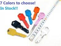 Mini llavero Knife plegable 8 colores EDC Key Knives Cuchillo multifuncional Fruta Cuchillo de bolsillo al aire libre Mini autodefensa Swiss Sable Survival Herramienta de supervivencia