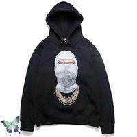 Ih Nom Uh Nit Hoodie Sweatshirt Men Women Cotton Hooded Mask Print Hoody