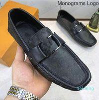 2021 Mens Designer Arizona Loafers Schoenen Klassieke Italië Luxurys Business Jurk Loafer Lederen Geruit Print Mans Casual 848