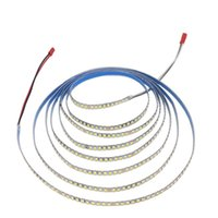 (2 solder joints) 200D 5B10CX2 2835 LED strip constant current ribbon 3 meters 60Wx2colors light belt be used in chandeliers