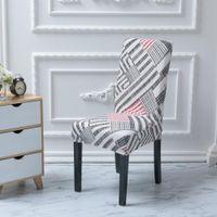 Spandex-Stuhlabdeckungen Home Slipcover Stretch Sitzkoffer Elastische Slipcover Stühle Dekor Floral 40 Design EWE5276