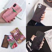 Один кусок Мода Телефон Чехлы для iPhone 13 Pro Max 12 11 X XR XSMAX Обложка PU Кожаная оболочка Samsung Galaxy S20P S20 Plus Примечание 10 20 Ультра с коробкой