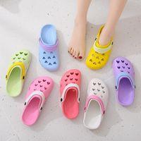 Sandalet Kadınlar Yaz Bayanlar Plaj Yeşil Ayakkabı Eva Hafif Sandles Düz Unisex Renkli Ayakkabı Sandalias