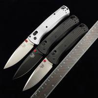 BenchMade 535BK-4 Axis Оси складной нож для складывания 3,24 дюйма M390 Black DLC одинарное лезвие, обработанные алюминиевые ручки Открытый кемпинг Охота EDC BM 535 ножей