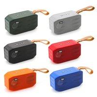 TG296 Altoparlanti wireless Bluetooth Bluetooth Virsifree Profilo di chiamata Stereo Bass Supporto TF USB Card Aux Line in hi-fi ad alta voce Mini altoparlante portatile