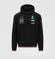 2021 Nouveau produit Style à la mode pour augmenter F1 Formula One Team Sweat à capuche Sweat-shirt de sport décontracté à manches longues Ventilation de course Racing Logo Vestes peut être personnalisé