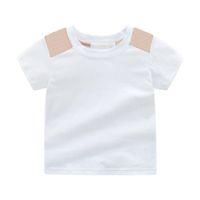 Casual estate bambini ragazzo ragazza t shirt vestiti ragazzi t-shirt stampa bambini bambino baby designer designer di cotone tee abbigliamento