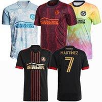2021 2022 Atlanta United Futebol Jersey Martinez Moreno Almiron Robinson FC 21 22 Homens e Crianças Camiseta