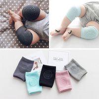 Calcetines para bebés Protector de rodilla antideslizante para la almohadilla de rastreo Tumble Boy Chica Algodón Transpirable Pierna Smile
