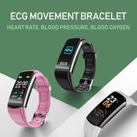 C16 Smart Wristband Watch Braccialetto Fitness Braccialetto Android IOS Frequenza cardiaca Band Sleep Monitor Blood Pressure Tracker