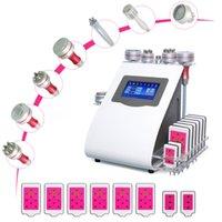 9 sur 1 tactile tactile cavitation ultrasonique RF vide photon microcurrent soins du visage serrant la peau beauté machine DHL