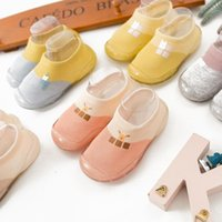 First Walkers Toddler Baby Girl Shoes Soft Rubber Children Casual Kids Designer Socks Born Accessories Zapatillas