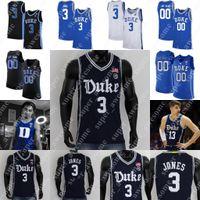 Duke Blue Devils Basketball Jersey 1 Trevor Keels 2 Jaylen Blakes 5 Paolo Banchero 12 Theo João 21 AJ Griffin 50 Bates Jones 3 Tre Jones 32 Christian Laettner Williamson