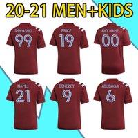 2021 mls Colorado Home Soccer Jersey Rapids Benezet Namli Shinyashi Abubakar Shinyashiki Camisa de futebol Man + Kid Kit