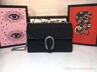 مصمم حقيبة يد فاخرة محفظة جودة عالية المخملية المواد المرأة مصمم سلسلة حزام حقيبة الكتف حقيبة كبيرة نوعية جيدة أزياء حقائب اليد