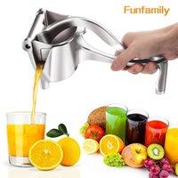 Manual Juice Squeezer Aluminum Alloy Hand Pressure Juicer Pomegranate Orange Lemon Sugar Cane Juice Kitchen Fruit Tool