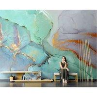 beibehang на заказ Nordic ручная роспись абстрактный маслом живопись телевизор фоновой диван обои Papel de Parede настенные бумаги домашнего декора 210722