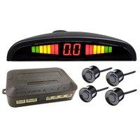 초승달 주차 센서 디지털 부저 레이더 디스플레이 모니터링 된 탐지 시스템 자동차 후면보기 카메라 센서