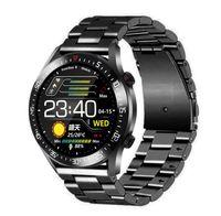 كامل دائرة تعمل باللمس شاشة لمس الرجال الساعات الذكية IP68 للماء الرياضة اللياقة البدنية ووتش رجل فاخر smartwatch للرجال