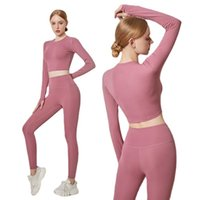 Yoga Outfit Suit Workout Gym Running Speed Dry High-waisted Bulift Pants