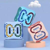 США на складе, 3 цвета игрушки поколения вращающиеся волшебные бобовые вечеринки пользуются интеллектуальным развитием пальцев пальца FY7675