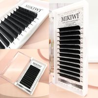 False Eyelashes MIKIWI Easy Fanning Volume Mega Extension Auto Flowering Rapid Blooming Fans Lashes Fast Delivery