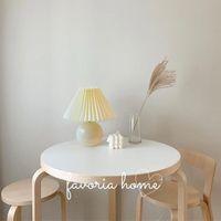 Table Lamps Warm White Ceramic Bedroom Bedside Nordic Decor Mushroom Night Lights Lampka Nocna Home BI50TL