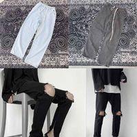 Mode Männer Hemden Herren Designer Jeans Slim Herrenhose Frauen Hooide T-Shirt und Hemd Joggers Männliche Jacke High Street gewaschener Reißverschluss