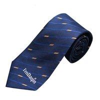 حقق Propsional الرسمي مخصص 100٪ الحرير مخطوطة ربطة العنق