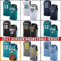 JA Morant Jersey MemphisGrizzliesJersey Jaren 13 Jackson Jr. Vancouver 2021 StadtAuflageJersey Uniform BGDNCV.