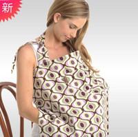 Mutterschaftskleid Baumwolle Atmungsaktive Mutter Stillen Pflege Nursing Outdoor Baby Schal Fütterungsabdeckungen Schürze Abdeckung Mutterschaftspads