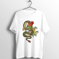 Harajuku Vintage Chinese Dragon Print Tshirt Women Summer Ulzzang Casual Oversized Top T-Shirt Female Streetwear Tops Tees Women's
