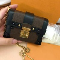 Мини-стволы сумки на плечо дизайнеры роскоши кошелек рюкзаки ключей кошелек лоскут милые сумки модные сумки с коробкой