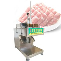 New Electric Lamb Beef Slicer Freezing Mutton Roll Cutting Machine Meat Planer